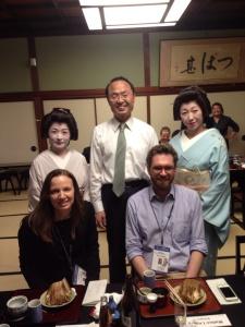 Con il Sindaco di Kanazawa