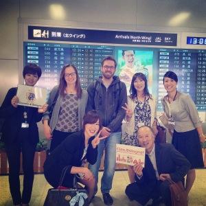 Il benvenuto dello staff di Itabashi