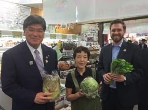 Visita al mercato centrale di Itabashi