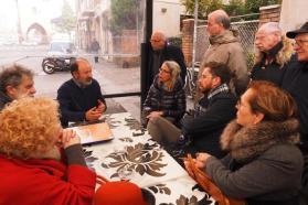 GIRO CONOSCITIVO ASSESSORE LEPORE E PRES QUARTIERE AMOREVOLE IN ZONA IRNERIO