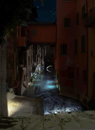 Canale illuminato